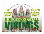 TONIGHT: Girls Basketball vs North Miami + Streaming Link – Senior Night