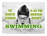 TONIGHT: Swimming vs North Judson – Senior Night