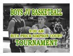 TODAY: Boys JV Basketball Tournament