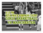 TONIGHT: Girls Basketball vs Manchester + Streaming Link