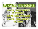 TODAY: Boys and Girls Basketball Tripleheader + Streaming Link