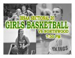 TONIGHT: Girls Basketball vs Northwood – IHSAA Sectional 20 @ Wawasee