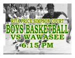 TONIGHT: Boys Basketball vs Wawasee + Streaming Link