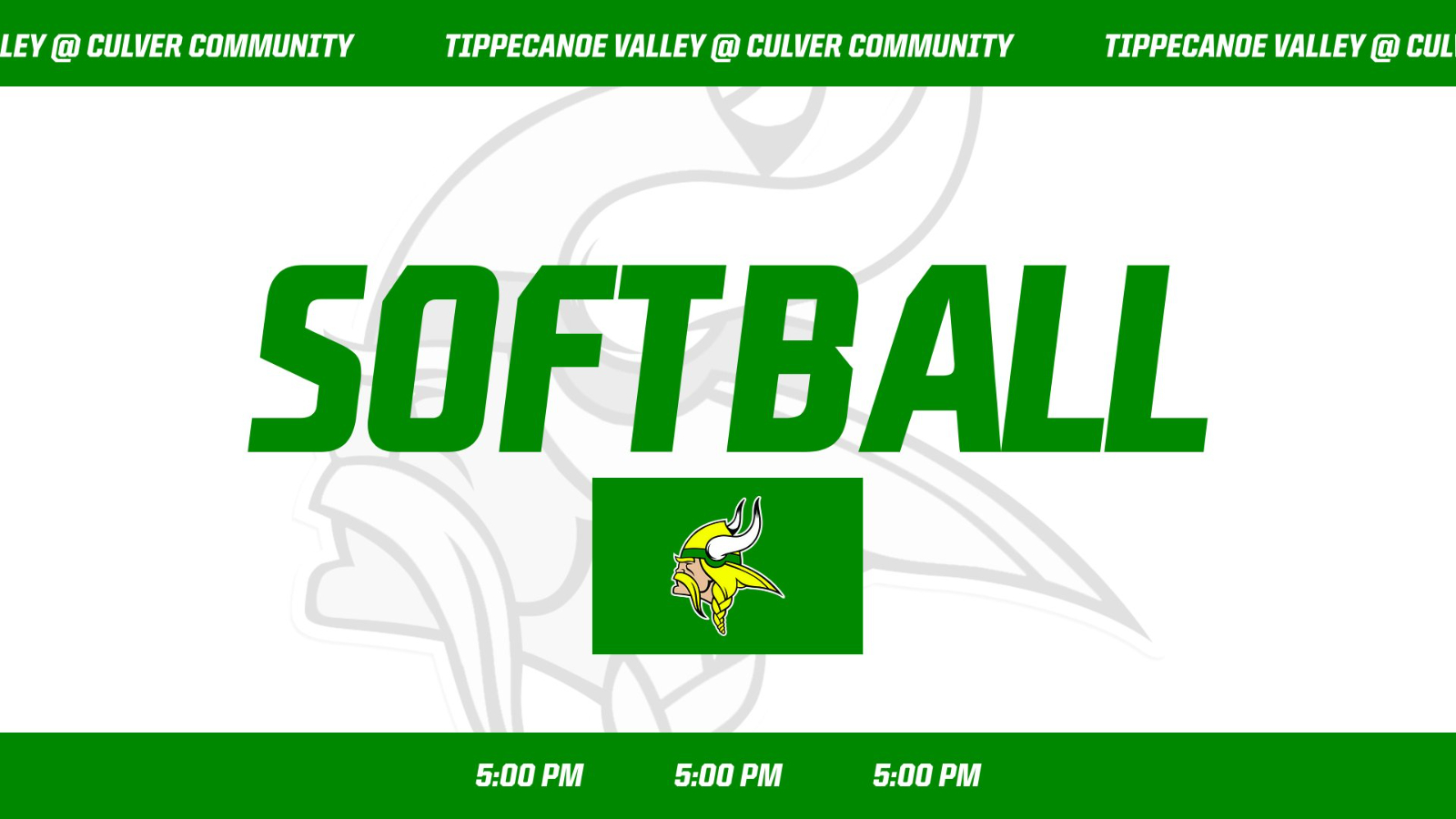 Softball at Culver Community Cancelled