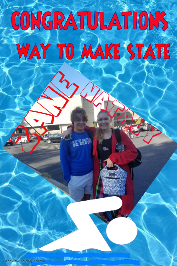 2 swimmers make the cut to go to STATE!