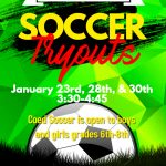 Middle School Soccer Tryouts