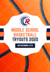 Middle School Basketball Tryouts: November 7th