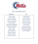 2020-2021 Men's Basketball Roster