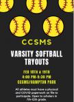 Varsity Softball Tryouts