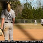 Softball:  Orange 8, East 3 – Mia Davidson Ties Record