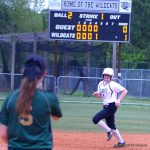 Girls Varsity Softball beats Northwood 9 – 4
