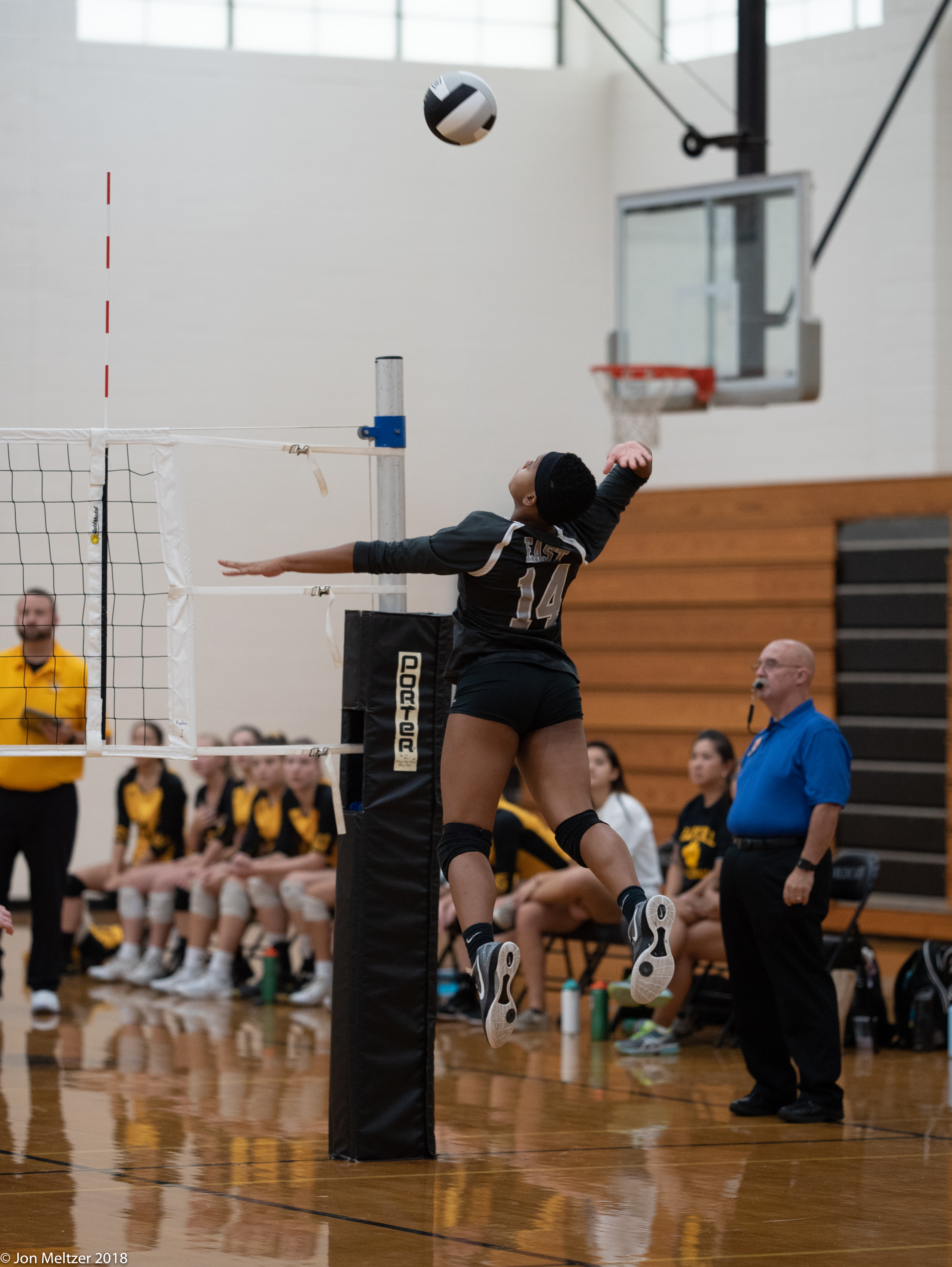 Volleyball – Tigers Top 'Cats 3-1 – 9.11.2018