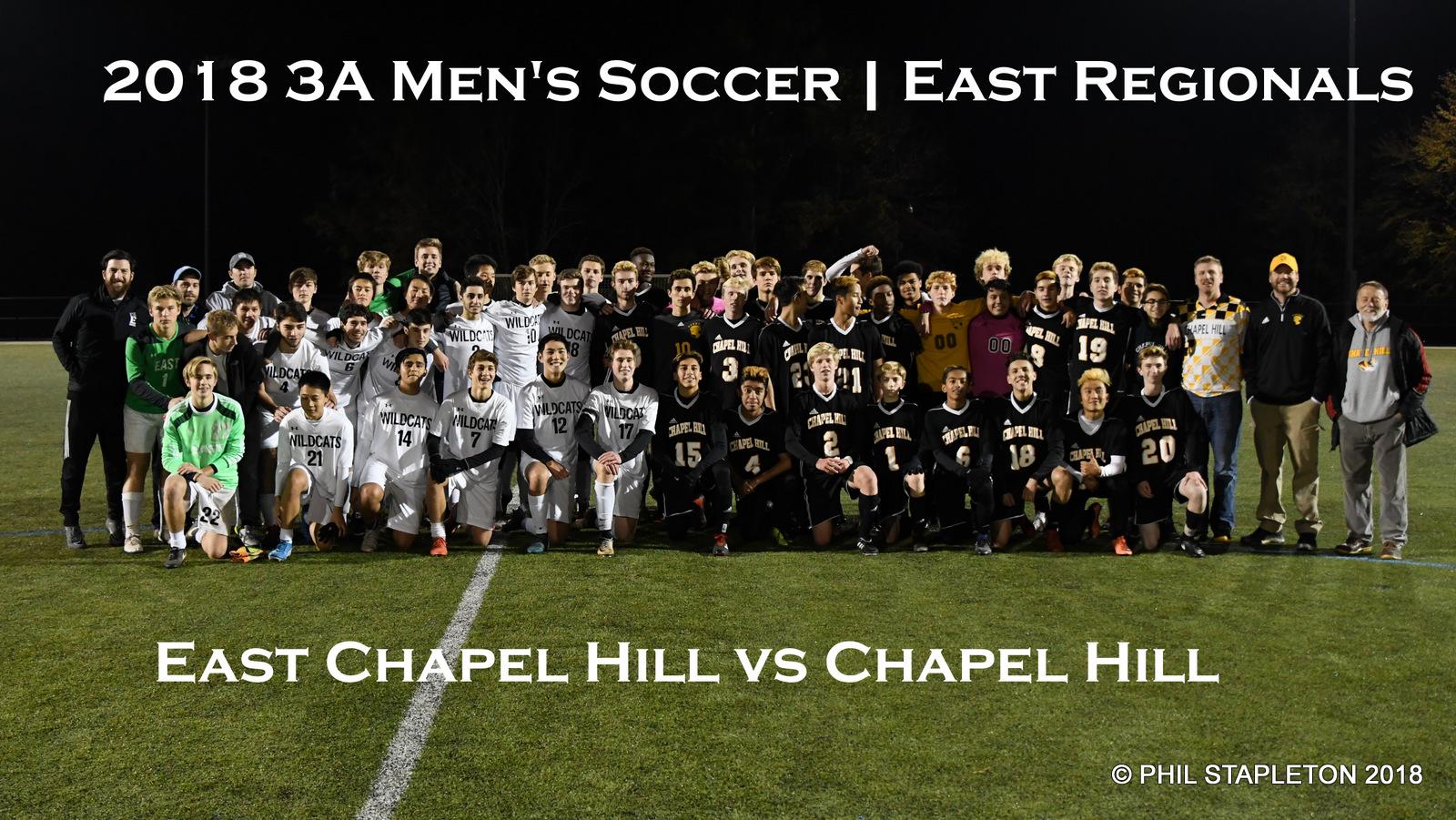 Soccer vs Chapel Hill   3A East Regionals   W 11.14.2018