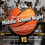 Basketball to host Middle School Night | F 2.08.2019