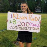 Milestone:  W-LAX's Flynn Reed nets 200th goal