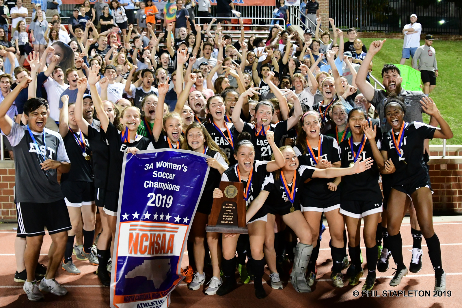 Women's Soccer Wins 4th State Championship