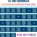 Wildcat Workout Challenge – Big Boi Fitness' 31-Day Advanced | M 3.30.2020