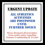FALL SPORTS START DELAYED UNTIL SEPT 1