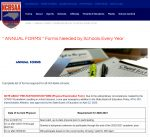 NCHSAA – Annual Forms Needed by Schools Every Year