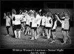 W-LAX Senior Night vs Wakefield   W 01.27.2021
