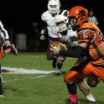 Stockbridge High School Varsity Football beat Parchment High School 50-34