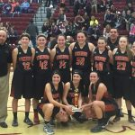 Stockbridge High School Girls Varsity Basketball beat Western High School-Parma 53-43
