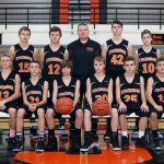 Stockbridge High School Boys Freshman Basketball beat Laingsburg High School 44-34