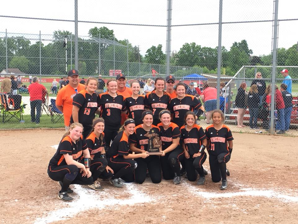 Softball Wins District Championship!
