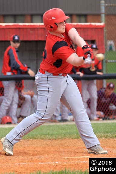 Cade Walker Earns Honorable Mention on the J&C Small School All-Area baseball team