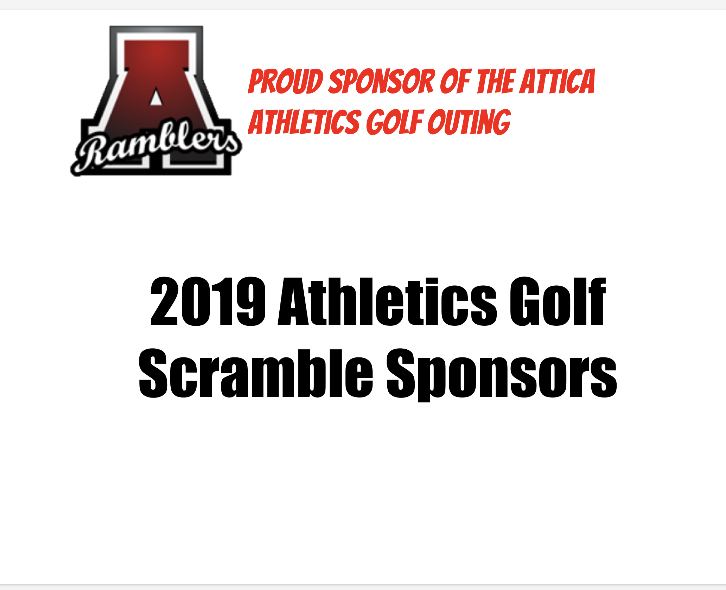 2019 Athletics Golf Outing