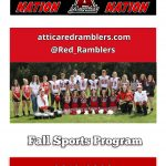 Check out the Fall Sports Program Edition