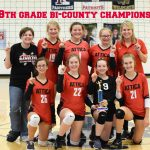 Attica 8th Grade Volleyball WINS Bi-County