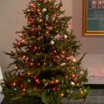 Attica Athletics and NHS joining together to do a Sharing Tree