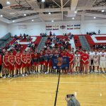 Attica Red Ramblers host Southmont Mounties in Basketball Day Indiana