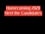 Homecoming Week 2020 Meet the Candidates and Dress up Day INFO