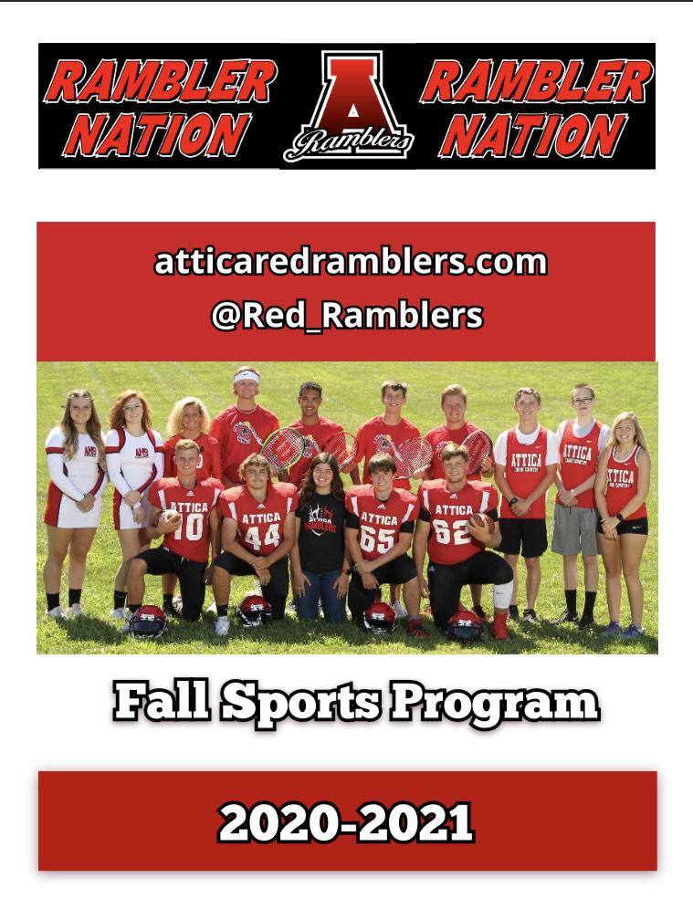 Fall Sports Program