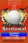 IHSAA Volleyball Sectional #54 Change