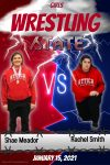 Meador and Smith Headed to Girls Wrestling State on Friday
