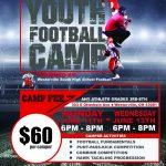 Summer Youth Football Camp 2018