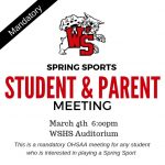 Spring Sports Meeting