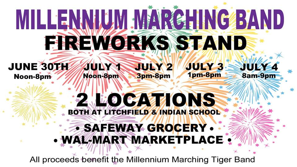 MHS Band is Selling Fireworks