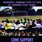 Girls Varsity Soccer falls to Campo Verde 1 – 0