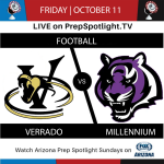 PREPSPOTLIGHT TV TO BROADCAST FRIDAY'S FOOTBALL GAME