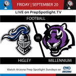 PREPSPOTLIGHT TV TO BROADCAST FRIDAY'S FOOTBALL GAME