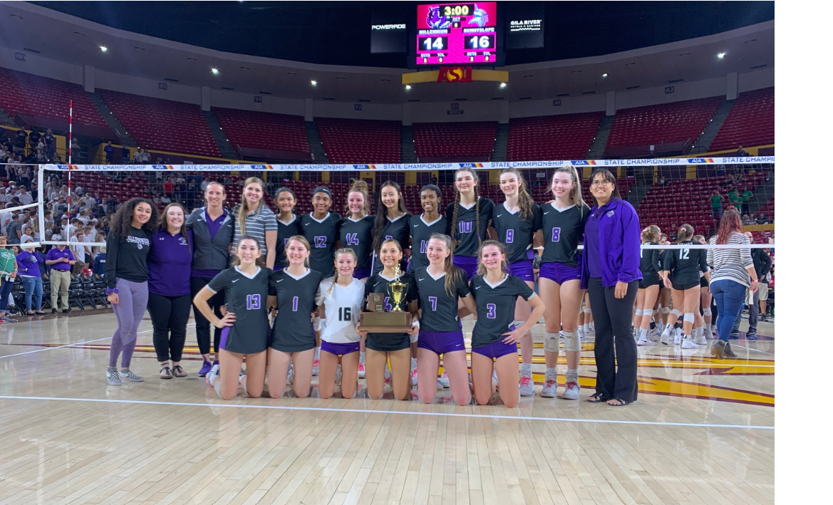 MaxPreps 5A Volleyball Finals – Game Pictures – Millennium vs Sunnyslope