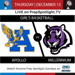 Girls Basketball On Prep Connect Thursday