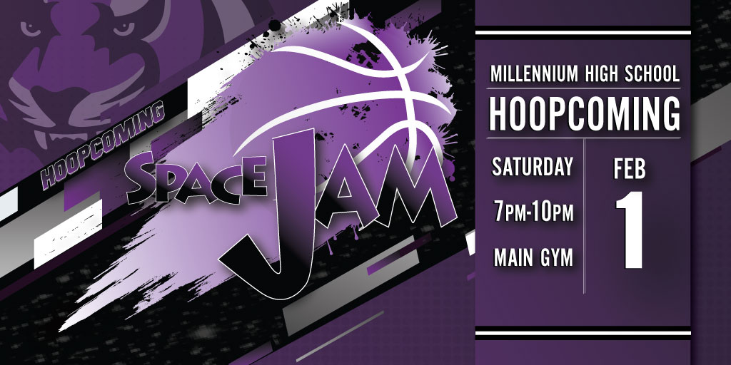Space Jam Hoopcoming Dance