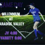 Girls Varsity Soccer beats Desert Mountain 4 – 0