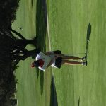 Mission Viejo High School Girls Varsity Golf beat J Serra Catholic High School 276-277