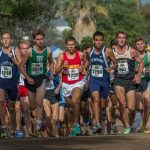 Mission Viejo High School Boys Varsity Cross Country finishes 5th place